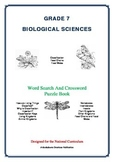 Biological Sciences - 47 Pages - Wordsearch and Crossword