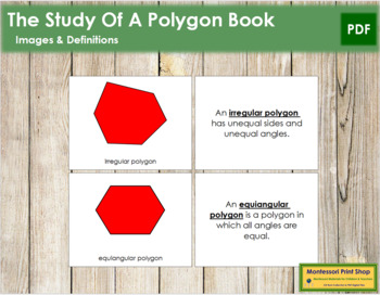 The Study of a Polygon Book