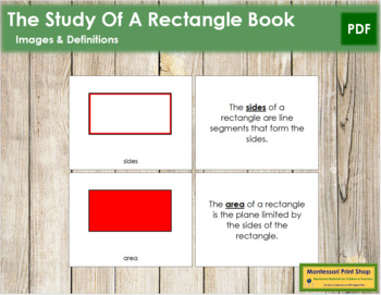 The Study of a Rectangle Book