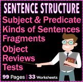 The Subject and the Predicate, Kinds of Sentences, Sentenc