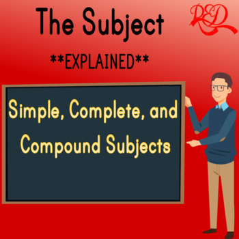 The Subject of a Sentence ❘ Compound, Simple and Complete Subject ❘ Grammar Pack