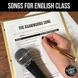 The Subordinating Conjunctions Song: Mini-Lesson for English Class (All Grades)