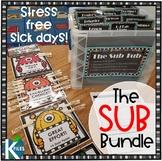 The Substitute Teacher Bundle