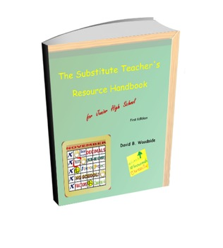 The Substitute Teacher's Resource Handbook for Junior High School (Printed Book)