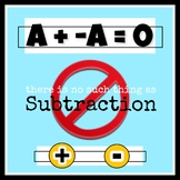 There is No Such Thing as Subtraction