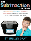 The Subtraction Station {Fourth Grade}