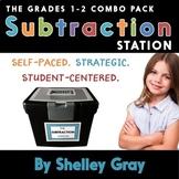The Subtraction Station {Grades 1-2 Combo Pack} BUNDLE