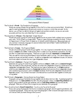 The Successful Writer's Pyramid Book