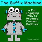 The Suffix Machine: A Fun Engaging No Prep Worksheet for C