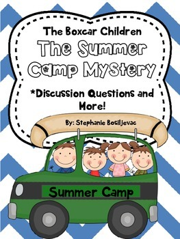 The Summer Camp Mystery (The Boxcar Children)