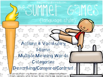 The Summer Games: Language Style