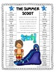 The Summer Scoot - Gameboards for Dolch Word Lists 1 - 11