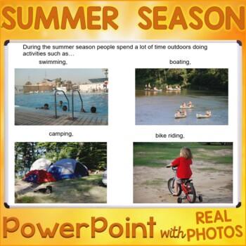 The Summer Season PowerPoint Presentation