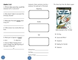 The Snow Day from the Black Lagoon Comprehension Tri-fold