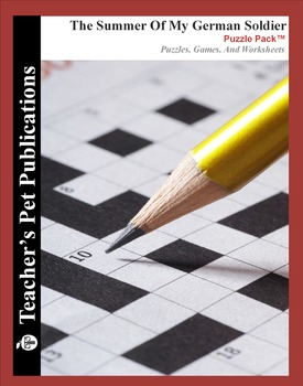 The Summer of My German Soldier: Puzzle Pack - Crosswords, Worksheets, Games