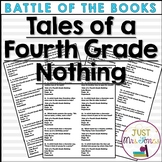 Tales of a Fourth Grade Nothing Battle of the Books Trivia