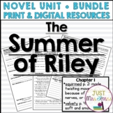 The Summer of Riley Novel Unit