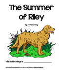 The Summer of Riley, by Eve Bunting: A Bookclub Packet
