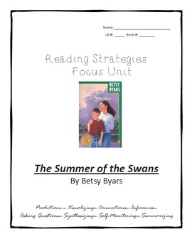 The Summer of the Swans Novel Study