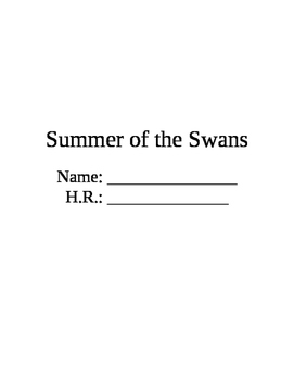 The Summer of the Swans Packet
