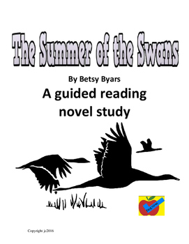 The Summer of the Swans guided reading novel study