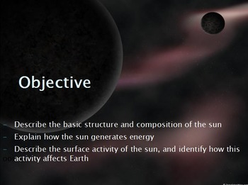 Astronomy - The Sun w/worksheet (SMART BOARD)