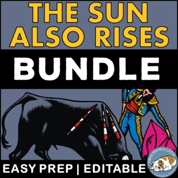 The Sun Also Rises Activity Mini Bundle