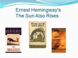 The Sun Also Rises, Hemingway - Presentation & Google Lit