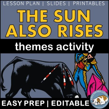 The Sun Also Rises Themes Textual Analysis Activity
