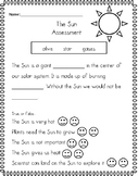 The Sun Assessment (Differentiated)