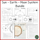 The Sun, Earth, and Moon BUNDLE (Now with Student Workbook!)