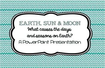 The Sun, Earth, and Moon~ Rotation vs Revolution; Seasons,