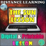 The Sun Lesson- Printable and Digital Astronomy Unit