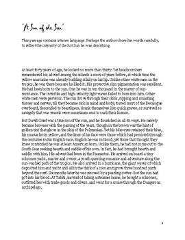 The Sun Literature & Composition