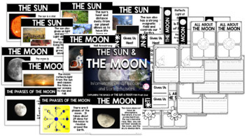 The Sun & Moon {PreK-2 Activities, Sorting, & Picture Informational Signs}