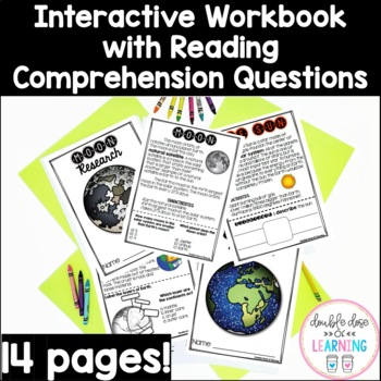 The Solar System: The Sun, Moon and Earth Research Unit BUNDLE with PowerPoints