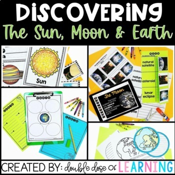 Solar System: The Sun, Moon and Earth BUNDLE with PowerPoints