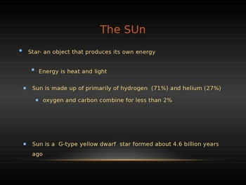 The Sun Power Point