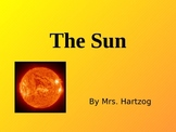 The Sun Powerpoint for 5th Grade Science in California