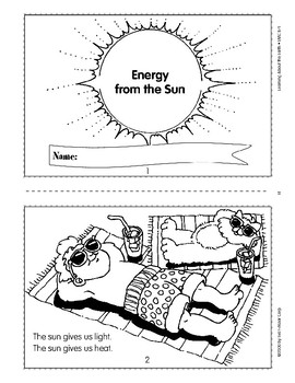 The Sun Provides Light and Heat for Earth