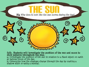 The Sun & Shadows - Presentation FREEBIE!