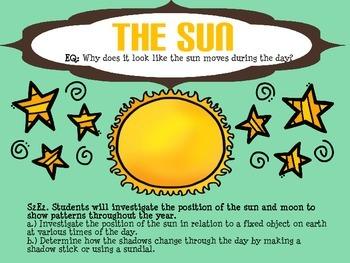 The Sun & Shadows - Presentation FREEBIE!