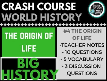Life Begins: Crash Course Big History #4