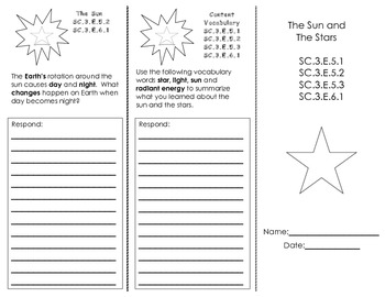 The Sun & The Stars Trifold