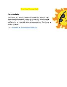 The Sun Virtual Lab