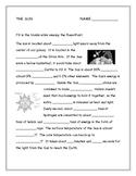 The Sun Worksheet