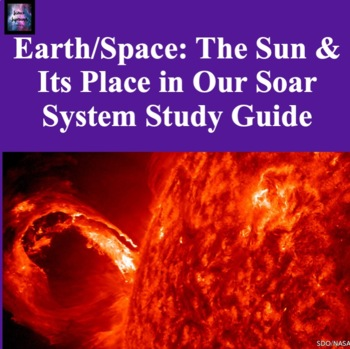 The Sun and Its Place in the Solar System Study Guide