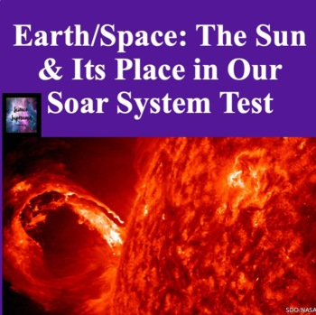 The Sun and Its Place in the Solar System Test