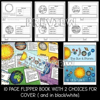 The Sun and Planets Flipper Book