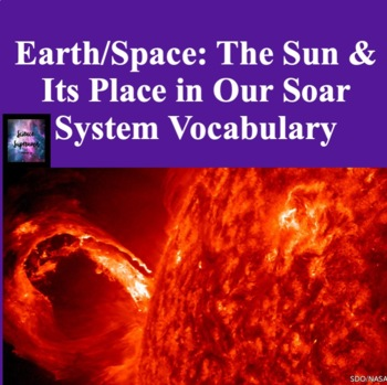 The Sun and Solar System Vocabulary